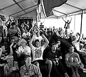 Competitors cheering for Ryan Hardy at the Box Pro in Margaret River, Western Australia