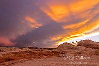 Sunset, White Pocket, Vermillion Cliffs National Monument, Paria Plateau, Arizona