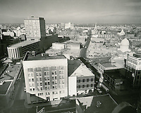 1961 November 24..Redevelopment.Downtown North (R-8)..Downtown Progress..North View from VNB Building..HAYCOX PHOTORAMIC INC..NEG# C-61-5-95.NRHA#..
