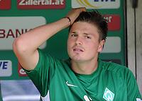 FUSSBALL   1. BUNDESLIGA   SAISON 2011/2012    1. SPIELTAG SV Werder Bremen - 1. FC Kaiserslautern             06.08.2011 Sebastian PROEDL (SV Werder Bremen)