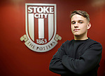 Thibaud Verlinden at Stoke City training ground - Football - Barclays Premier League - Stoke City