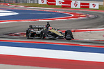 Schmidt Peterson Motorsports driver James Hinchcliffe (5) of Canada in action during the practice round at the Circuit of the Americas racetrack in Austin,Texas.