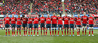 Munster team minute silence in memory of the late President of South Africa Nelson Mandela