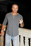 Sean Carrigan - The Young and The Restless - Karoake and Bartending at La Tavola Restaurant and Bar where Actors from Y&R, General Hospital and Days donated their time to Southwest Florida 16th Annual SOAPFEST - a celebrity weekend May 22 thru May 25, 2015 benefitting the Arts for Kids and children with special needs and ITC - Island Theatre Co. on May 24, 2015. (Photos by Sue Coflin/Max Photos)