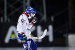 Uppsala 2013-11-20 Bandy Elitserien IK Sirius - Edsbyns IF :  <br /> Edsbyn Martin Frid jublar efter sitt 5-1 m&aring;l<br /> (Foto: Kenta J&ouml;nsson) Nyckelord:  jubel gl&auml;dje lycka glad happy