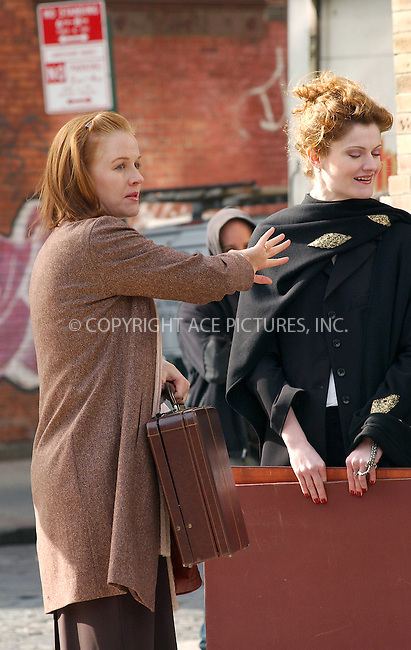 """WWW.ACEPIXS.COM . . . . . ..NEW YORK, NOVEMBER 11, 2004: PENELOPE ANN MILLER on the set of her latest movie, """"Funny Money"""". Please byline: ACE006 - ACE PICTURES.. . . . . . ..Ace Pictures, Inc:  ..Alecsey Boldeskul (646) 267-6913 ..Philip Vaughan (646) 769-0430..e-mail: info@acepixs.com..web: http://www.acepixs.com"""