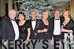 PJ, Sheila Lowney, Bob, Joan Purcell, Kathleen and Peter Hogan Kenmare enjoying the New Years Eve ball in the Malton Hotel Killarney on Friday night  ..