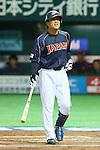 Kazuo Matsui (JPN), .MARCH 2, 2013 - WBC : .2013 World Baseball Classic .1st Round Pool A .between Japan 5-3 Brazil .at Yafuoku Dome, Fukuoka, Japan. .(Photo by YUTAKA/AFLO SPORT)