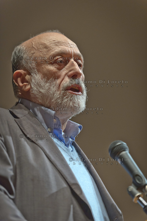 Carlo Petrini during the Slow Food Foundation for Biodiversity a thousand gardens in Africa in February 17, 2014. Photo: Adamo Di Loreto/BuenaVista*photo