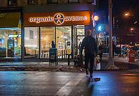 An Organic Avenue store in the Chelsea neighborhood of New York on Tuesday, February 3, 2015. (© Richard B. Levine)