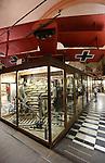 Foto: VidiPhoto<br /> <br /> ZILLEBEKE - Hooge Crater Museum in Zillebeke, bij Ieper in West-Vlaanderen, is een priv&eacute;museum met wapens, uitrusting en levensgrote taferelen van de Eerste Wereldoorlog (The Great War). Het geeft tevens een overzicht van de Slag bij Ieper tussen 1914-1918.