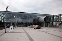 Partner Mercedes wünscht der DFB-Elf viel Glück am Mercedes Werk Rastatt