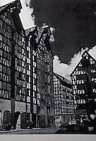 Germany: Fachwerk--Konigsberg Warehouses, 17th -18th century. Reference only.