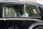 Coronation ceremony in Madrid. King Felipe VI of Spain and Queen Letizia of Spain arrive at Congreso de los Diputados. Madrid, June 19 ,2014. (ALTERPHOTOS/EFE/Pool)
