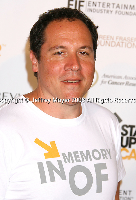 HOLLYWOOD, CA. - September 05: Actor Jon Favreau arrives at Stand Up For Cancer at The Kodak Theatre on September 5, 2008 in Hollywood, California.