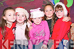 Enjoying the Christmas show at the Ballybunion Community Centre on Wednesday last were Donna Buckley, Sinead Hanrahan, Rachel Hanrahan, Lilybelle Beausigneaur and Orla Sadlier-Morrison.   Copyright Kerry's Eye 2008