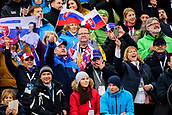 2nd February 2019, Maribor, Slovenia;  Peter Pellegrini Premier of Slovakia at the Audi FIS Alpine Ski World Cup Women's Slalom Golden Fox on February 2, 2019 in Maribor, Slovenia