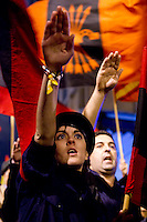 19 11 2012 far-right party demonstration Falange Espanola