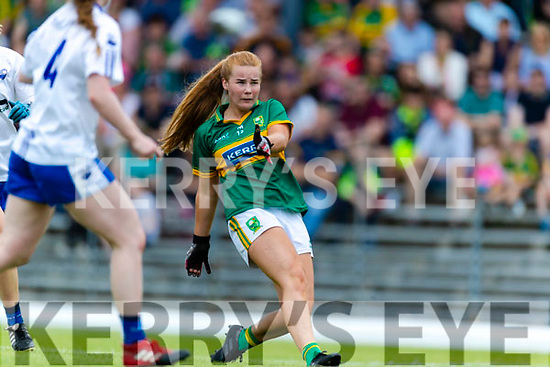 Andrea Murphy Kerry in action against  Waterford in the TG4 Munster Senior Ladies Football Championship semi-final match between Kerry and Waterford at Fitzgerald Stadium in Killarney on Sunday.