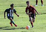 1st XI football, Kings College v Pakuranga College. Kings College, Auckland, New Zealand. Saturday 7 May 2016. Photo: Simon Watts/www.bwmedia.co.nz