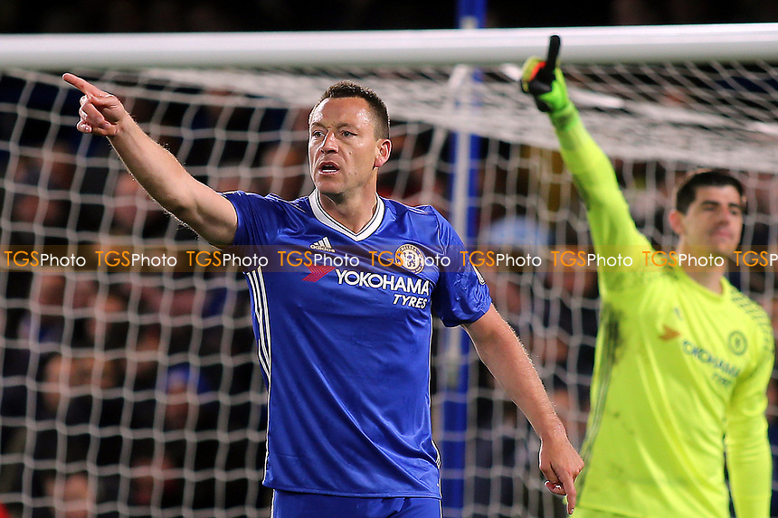 John Terry of Chelsea came on as a second half substitute during Chelsea vs Southampton, Premier League Football at Stamford Bridge on 25th April 2017