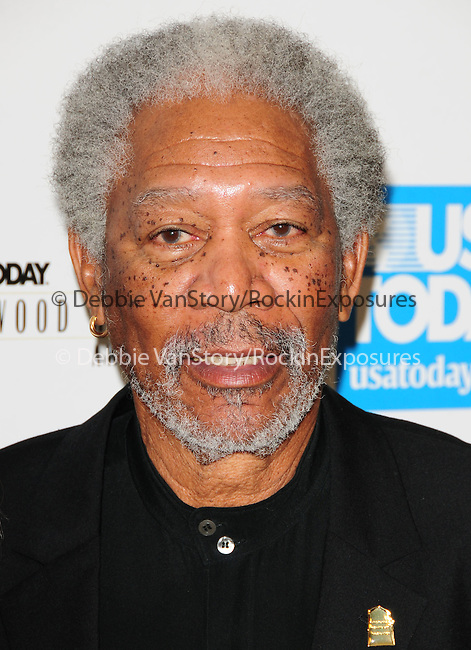 Morgan Freeman at The 4th annual USA TODAY Hollywood Hero Award Gala honoring Ashley Judd held at The Montage Beverly Hills in Beverly Hills, California on November 10,2009                                                                   Copyright 2009 DVS / RockinExposures