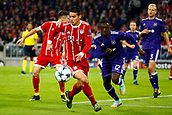September 12th 2017, Munich, Germany, Champions League football, Bayern Munich versus Anderlecht; James Rodriguez of Bayern Munchen   during the match