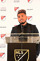 Josef MartinezAtlanta, Georgia - Wednesday, December 5, 2018. Atlanta United forward Josef Martinez was given the Major League Soccer 2018 Landon Donovan Most Valuable Player Award, announced today by the league office.