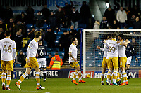GOAL - Joey Pelupessy of Sheffield Wednesday is congratulated after scoring during the Sky Bet Championship match between Millwall and Sheff Wednesday at The Den, London, England on 20 February 2018. Photo by Carlton Myrie.