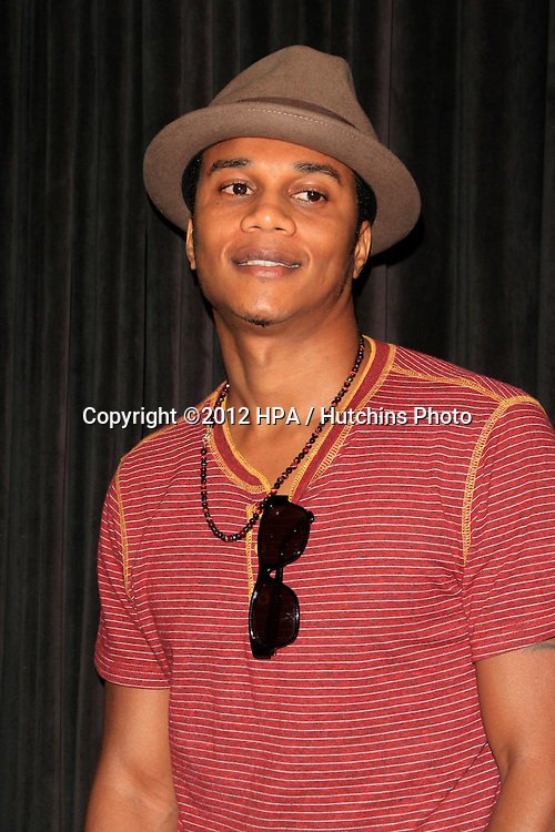 "LOS ANGELES - AUG 28:  Cory Hardrict arrives at ""You, Me & The Circus"" Premiere at SupperClub on August  28, 2012 in Los Angeles, CA"