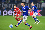 11.12.2018, VELTINS Arena, Gelsenkirchen, Deutschland, GER, UEFA Champions League, Gruppenphase, Gruppe D, FC Schalke 04 vs. FC Lokomotiv Moskva / Moskau<br /> <br /> DFL REGULATIONS PROHIBIT ANY USE OF PHOTOGRAPHS AS IMAGE SEQUENCES AND/OR QUASI-VIDEO.<br /> <br /> im Bild Alessandro Schöpf / Schoepf (#28 Schalke)<br /> <br /> Foto © nordphoto / Kurth