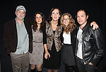 Michael Rudko, Merritt Janson, Christina Rouner, Lisa Joyce, Rob Campbell attending the Opening Night of the Transport Group Production of 'House For Sale' at the Duke on 42nd Street  on 10/24/2012 in New York.