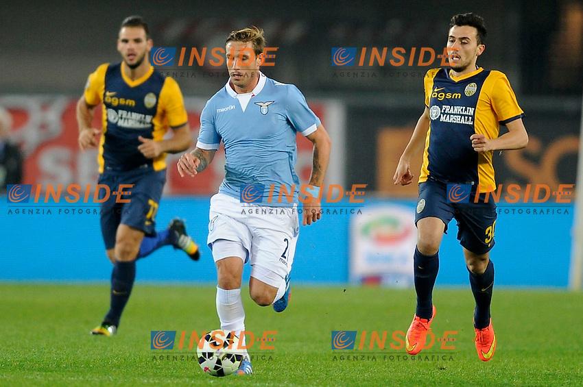 Lucas Biglia Lazio, <br /> Verona 30-10-2014 Stadio Bentegodi. Football Calcio 2014/2015 Serie A. Hellas Verona - Lazio. Foto Insidefoto