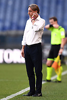 Davide Nicola coach of Genoa CFC reacts during the Serie A football match between Genoa CFC and SSC Napoli stadio Marassi in Genova ( Italy ), July 08th, 2020. Play resumes behind closed doors following the outbreak of the coronavirus disease. <br /> Photo Matteo Gribaudi / Image / Insidefoto