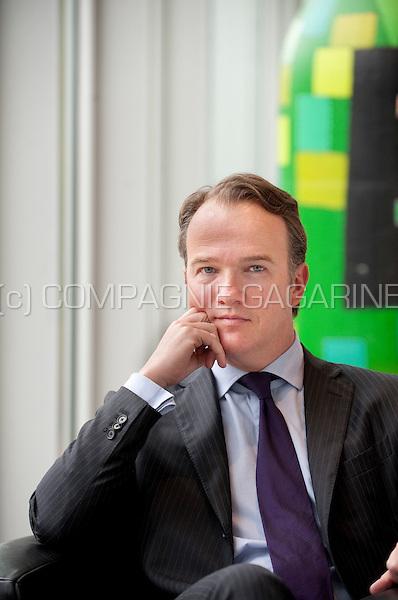 Daniel Krug, Chief Operating Officer at Duvel Moortgat nv brewery (Breendonk, 18/03/2011)