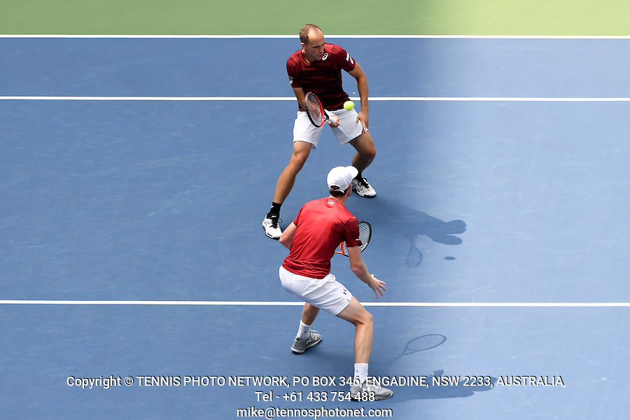 JAMIE MURRAY (GBR), BRUNO SOARES (BRA)<br /> <br /> TENNIS - THE US OPEN - FLUSHING MEADOWS - NEW YORK - ATP - WTA - ITF - GRAND SLAM - OPEN - NEW YORK - USA - 2016  <br /> <br /> <br /> <br /> &copy; TENNIS PHOTO NETWORK10