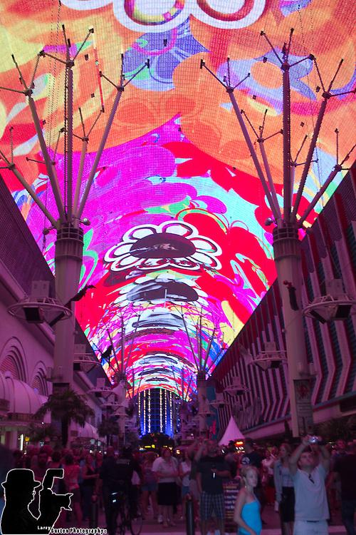 Fremont Street Experience, Las Vegas , Bike Week