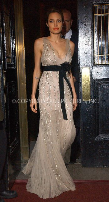 WWW.ACEPIXS.COM . . . . . ....NEW YORK, OCTOBER 24, 2005....Angelina Jolie at the Worldwide Orphans Foundation's First Benefit Gala held at the Capitale Venetian Ballroom.....Please byline: KRISTIN CALLAHAN - ACE PICTURES.. . . . . . ..Ace Pictures, Inc:  ..Craig Ashby (212) 243-8787..e-mail: picturedesk@acepixs.com..web: http://www.acepixs.com