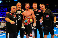 Gary Corcoran defeats Larry Ekundayo during a Boxing Show at the Copper Box Arena on 8th July 2017
