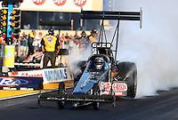 Jul. 26, 2013; Sonoma, CA, USA: NHRA top fuel dragster driver Bob Vandergriff Jr during qualifying for the Sonoma Nationals at Sonoma Raceway. Mandatory Credit: Mark J. Rebilas-