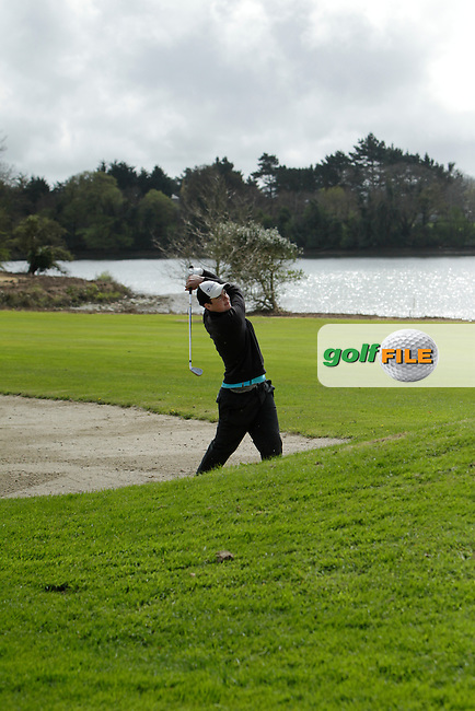 Andrew Keenan (Dundalk) on the 14th during Day 1 of The Munster Youths' Amateur Open Championship in Dungarvan Golf Club on Wednesday 23nd April 2014.<br /> Picture:  Thos Caffrey / www.golffile.ie