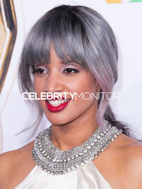 PASADENA, CA, USA - OCTOBER 10: Dascha Polanco arrives at the 2014 NCLR ALMA Awards held at the Pasadena Civic Auditorium on October 10, 2014 in Pasadena, California, United States. (Photo by Celebrity Monitor)