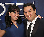 Kristen Anderson-Lopez  and Robert Lopez attends the Broadway Opening Night After Party for 'Frozen' at Terminal 5 on March 22, 2018 in New York City.
