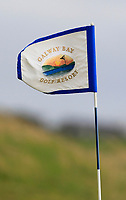 The flag on the 14th green during the Connacht Final of the AIG Barton Shield at Galway Bay Golf Club, Galway, Co Galway. 11/08/2017<br /> Picture: Golffile | Thos Caffrey<br /> <br /> <br /> All photo usage must carry mandatory copyright credit     (&copy; Golffile | Thos Caffrey)