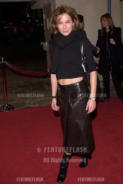 "12DEC99:  Actress JENNIFER GREY at the Los Angeles premiere of ""The Talented Mr. Ripley."".© Paul Smith / Featureflash"