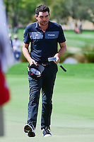 Keegan Bradley (USA) after barely missing a putt on 16 during round 1 of the Honda Classic, PGA National, Palm Beach Gardens, West Palm Beach, Florida, USA. 2/23/2017.<br /> Picture: Golffile | Ken Murray<br /> <br /> <br /> All photo usage must carry mandatory copyright credit (&copy; Golffile | Ken Murray)