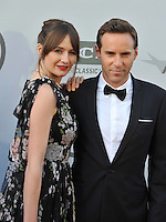 Emily Mortimer &amp; husband Alessandro Nivola at the 2014 American Film Institute's Life Achievement Awards honoring Jane Fonda, at the Dolby Theatre, Hollywood.<br /> June 5, 2014  Los Angeles, CA<br /> Picture: Paul Smith / Featureflash