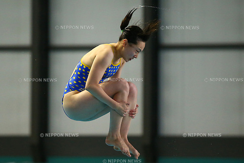 Yuka Mabuchi,<br /> SEPTEMBER 18, 2015 - Diving : <br /> All Japan Diving Championship 2015<br /> Women's 3m Springboard Final<br /> at Tatsumi International Swimming Center, Tokyo, Japan.<br /> (Photo by Shingo Ito/AFLO SPORT)