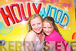 HOLLYWOOD: Trying out the Hollywood ride at the Birds Funfair were Shiniqua Purcell and Claudina Lonergan..   Copyright Kerry's Eye 2008