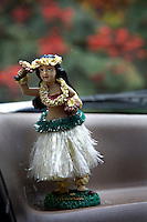 Hula Girl on car dashboard